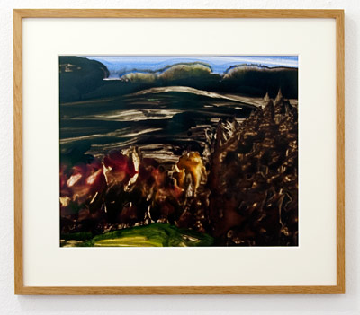 Joseph Egan / Joseph Egan Autumn (Colours in the World)  2000 50 x 58.5 x 2.5 cm Oil paints on paper with framing