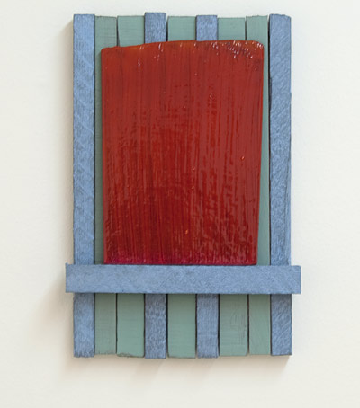 Joseph Egan / Joseph Egan concerto  2010 38 x 25.5 x 5 cm Various paints on wood