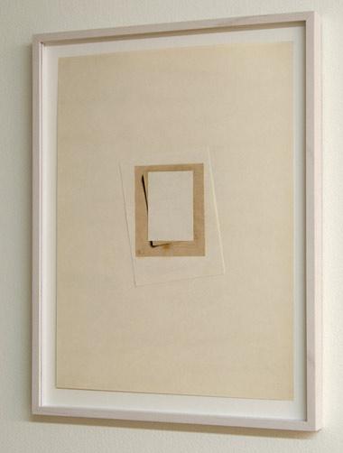 Giulio Paolini / Giulio Paolini Senza Titolo  1974 32.5 x 24 cm Collage