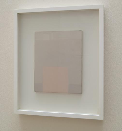Antonio Calderara / Studio  1959  24 x 18 cm Oel auf Holztafel