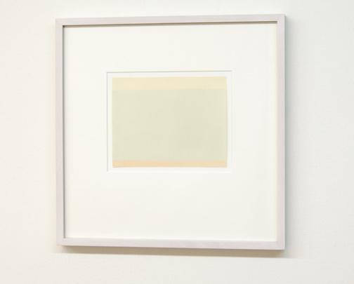Antonio Calderara / Orizzonte  1959  14 x 18 cm Aquarell auf Papier