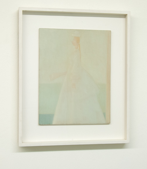 Antonio Calderara / Romantica (La Sposa)  1958  35 x 27 cm Oil on wood