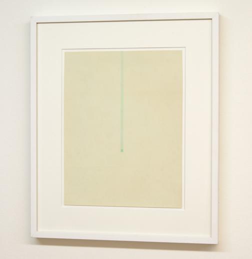 Antonio Calderara / Aquarello  1967  37.5 x 12.9 cm Aquarell auf Papier