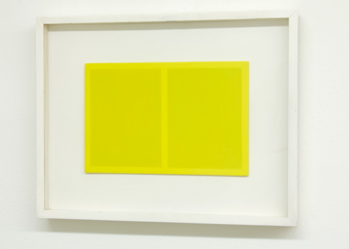 Antonio Calderara / Spazio Luce  1963  18 x 27 cm Oel auf Holztafel