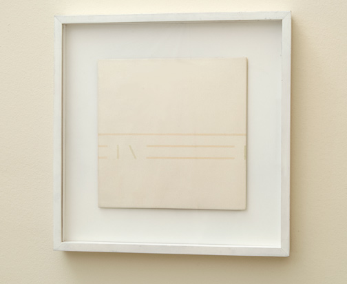 Antonio Calderara / Spazio Luce  1977  27 x 27 cm Oil on wood