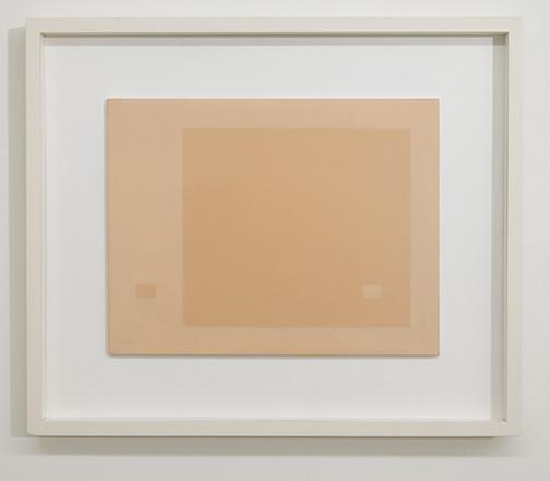 Antonio Calderara / Antonio Calderara Spazio Luce  1961 27 x 35 cm Oel auf Holztafel