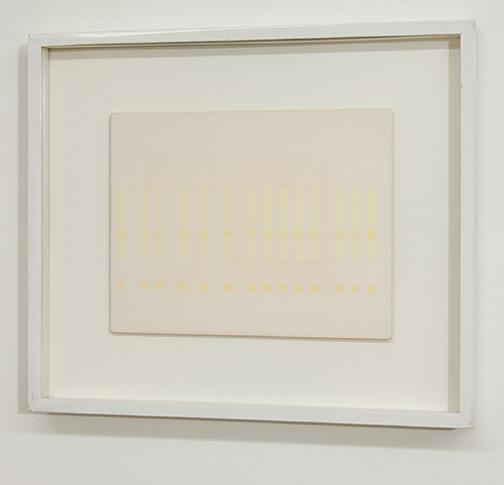 Antonio Calderara / Antonio Calderara Spazio Luce  1973 21 x 27 cm Oel auf Holztafel