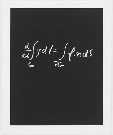 Sol LeWitt / Concinnitas  2014  80.5 x 66.5 cm Aquantita auf Rives Papier Ed. 1/100 Peter Lax (*1926) Courant Institute (NYU);  Abel, Wolf and Norbert Wiener Prizes