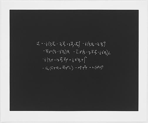 Sol LeWitt / Concinnitas  2014  66.5 x 80.5 cm Aquantita auf Rives Papier Ed. 1/100 Steven Weinberg (*1933) University of Texas;  Nobel Prize