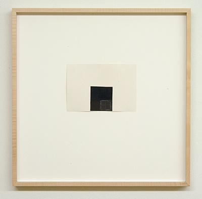 Sol LeWitt / James Bishop  Untitled  2015  11.3 x 16.5 cm Öl, Farbstift und Collage auf Papier
