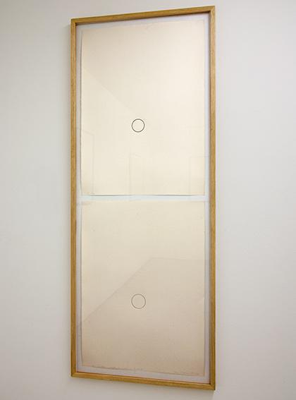 Sol LeWitt / David Rabinowitch  Construction of Vision C  1979  2 Blätter, je: 77 x 57 cm Bleistift auf Papier
