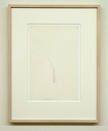 """Sol LeWitt / Richard Tuttle  52 1/2"""" Center Point Works V (4)  1976  22.8 x 15.2 cm Bleistift auf Papier"""