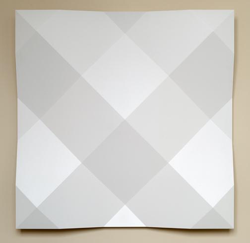 Andreas Christen / Andreas Christen Ohne Titel  1998 140 x 140 cm MDF - Platte (Tageslicht)