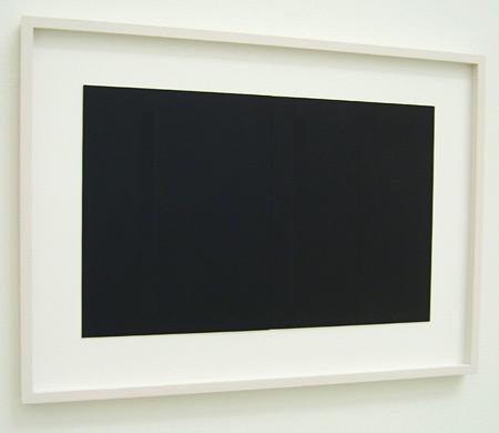 Fred Sandback / Untitled  1994 25.4 x 39.4 cm / 10 x 15.5
