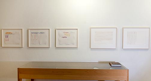 Giorgio Griffa / Werke 1972 – 1983