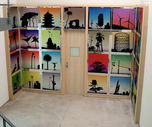 Glen Rubsamen / In Place of Love  2010 302.5 x 395 x 160 cm installation
