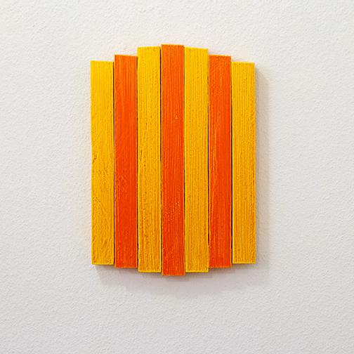 Joseph Egan / Joseph Egan heat  2013  33 x 23.5 x 3 cm oil paint on wood