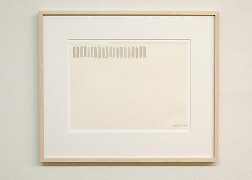 Giorgio Griffa / Giorgio Griffa Untittled  1977  23 x 31 cm watercolor on paper