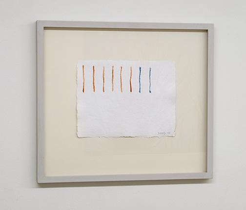 Giorgio Griffa / Giorgio Griffa Untitled  1978  36 x 50 cm Aquarell auf Papier