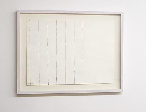 Giorgio Griffa / Giorgio Griffa Untitled  1980  24 x 31 cm Aquarell auf Papier