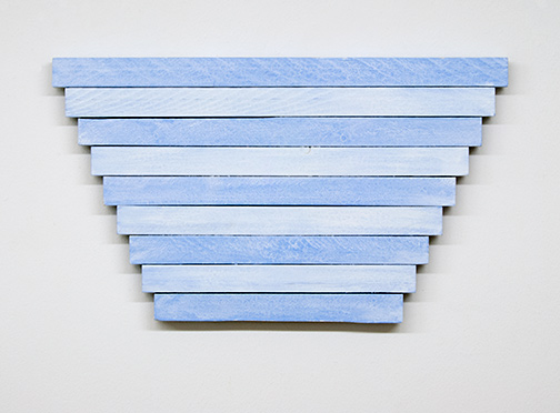 Joseph Egan / Joseph Egan in winter  2015  40 x 70 x 3 cm Ölfarben auf Holz