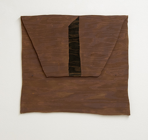 Richard Tuttle / Richard Tuttle New Mexico, New York  Nr. 13  1998  45.7 x 50.8 cm Acryl auf Sperrholz