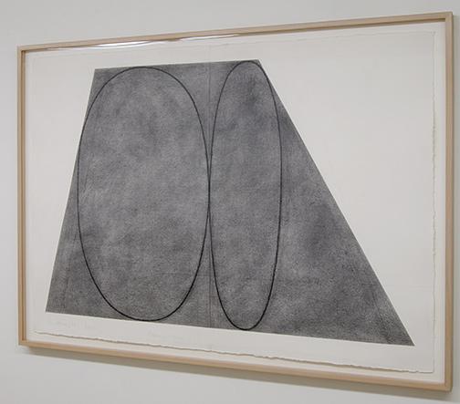 Robert Mangold / Robert Mangold Plane/Figure  1992  105.4 x 148.6 cm Grafit auf Papier