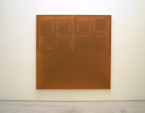 James Bishop / State 1972 182,7 x 183 cm Öl auf Leinwand
