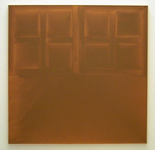 James Bishop / State 1972 182,7 x 183 cm Öl auf Leinwand