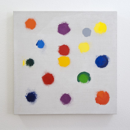 Jerry Zeniuk / Untitled  2011  60 x 60 cm Oil on canvas