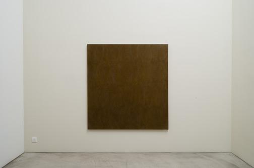 Jerry Zeniuk / Untitled (Nr. 65) Berlin  1977 160 x 152 cm Oel und Wachs auf Leinwand