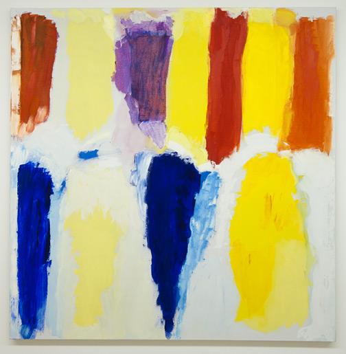 Jerry Zeniuk / Untitled (Nr. 208) NYC  1998 160 x 152 cm Oel auf Leinwand