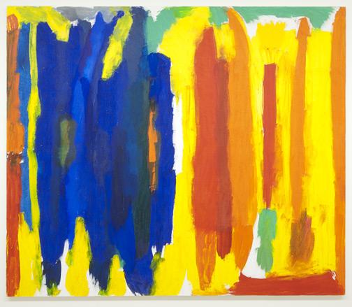 Jerry Zeniuk / Untitled (Nr. 184)  1995  170 x 193 cm Oel auf Leinwand