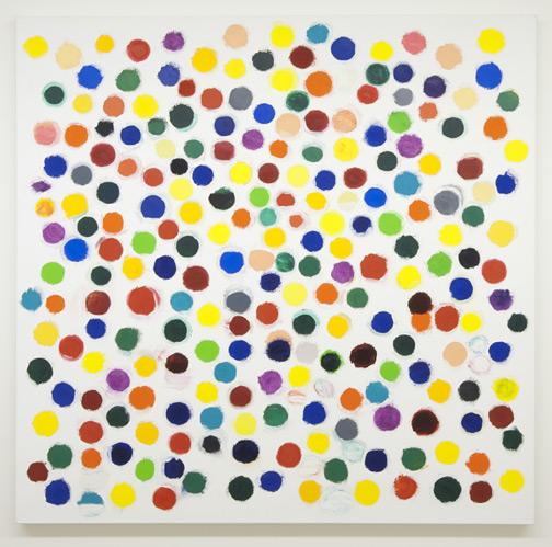 Jerry Zeniuk / Untitled (Nr. 301)  2008  160 x 160 cm Oel auf Leinwand