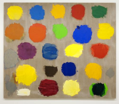 Jerry Zeniuk / Untitled (Nr. 259)  2003  170 x 193 cm Oel auf Leinwand
