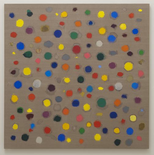 Jerry Zeniuk / Untitled (Nr. 300)  2008  180 x 180 cm Oel auf Leinwand