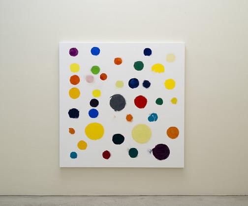 Jerry Zeniuk / Untitled (Nr. 313)  2011  170 x 170 cm Oel auf Leinwand