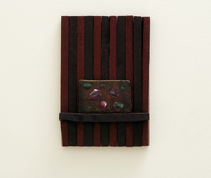 Joseph Egan / Elegy  2011  37 x 26 x 4.5 cm various paints on wood