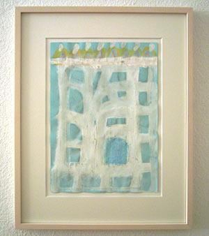 Joseph Egan / place of mind  2006  29.7 x 21 cm various paints on paper