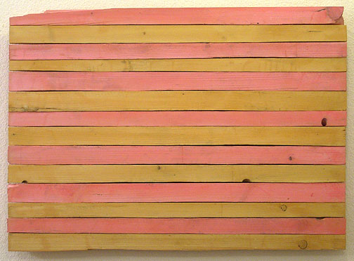 Joseph Egan / King  2001  58 x 80 x 4 cm oil paints on wood