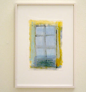 Joseph Egan /  Colori #5  2007  35 x 25 x 2 cm various paints on paper with framing