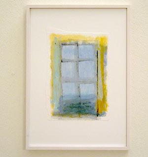 Joseph Egan /  Colori #5  2007  35 x 25 x 2 cm various paints on paper with framing