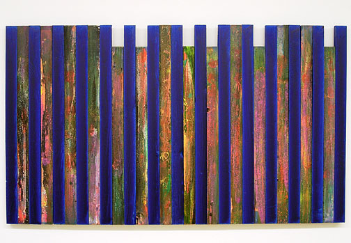 Joseph Egan / Night Flowers  2000 / 2007  74 x 128 x 3 cm various paints on wood