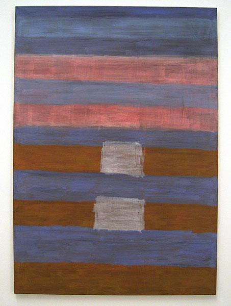 Joseph Egan / Somehow  2005 / 2007  130 x 90 x 2 cm dry pigments with acrylic binder