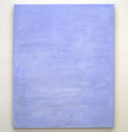 Joseph Egan / the rain came  2007  115 x 90 x 2.5 cm various paints on canvas