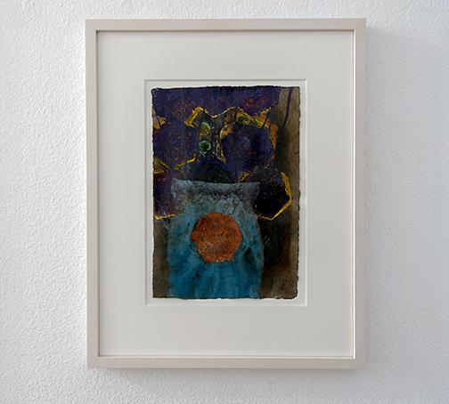 Joseph Egan / Bouquet (Nr.1)2014 48.5 x 39 x 3 cmpaper: 30 x 21 cmoil paints on paper with framing