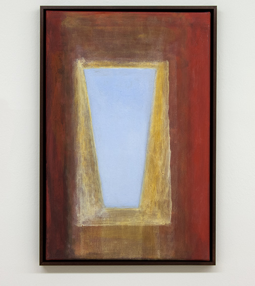 Joseph Egan / overhead2009 62.5 x 42.5 x 3 cmvarious paints on canvas with framing