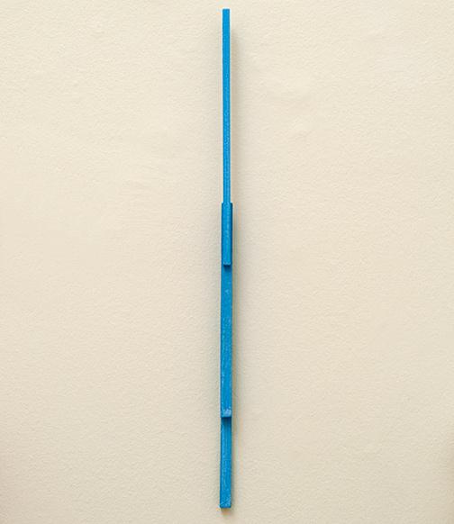Joseph Egan / steps  2013  56 x 1.5 x 3 cm oil paint on wood