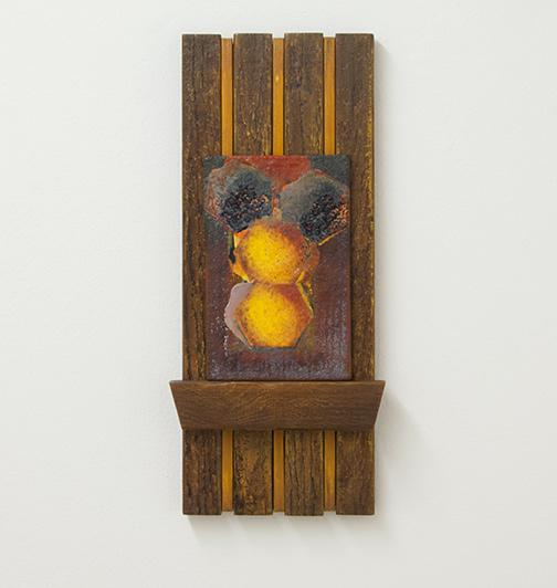 Joseph Egan / La Casa d'Api  2014  47 x 21 x 5 cm painted wood and painted panel