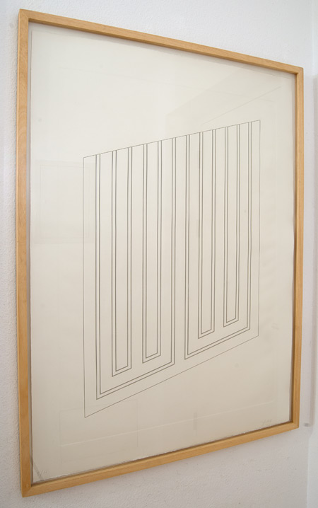 Donald Judd / Donald Judd  Untitled  1984 - 1985 105 x 74 cm Etching on Arches  Cover White paper Ed. 5/15